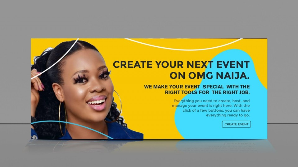 Create event on OMG Naija. We have the right tools to manage and promote your event